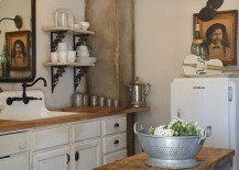 Old-table-turned-into-a-tiny-island-for-the-small-kitchen-217x155