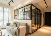 Original-bedroom-turned-into-workspace-for-a-couple-and-bedroom-with-glass-walls-217x155