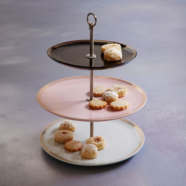 Petit four stand from West Elm