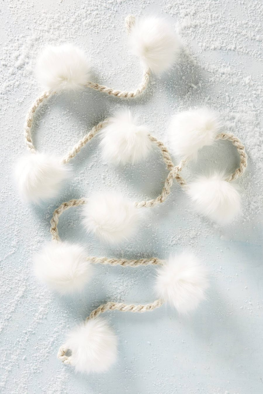 Pom pom garland from Anthropologie