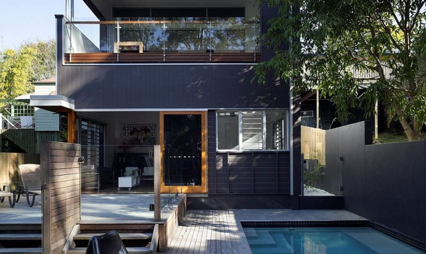 Series of Internal Steps Maximizes Space Inside Suburban Aussie Home