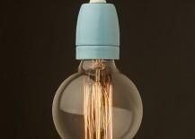 Porcelain pendant from Edison Light Globes