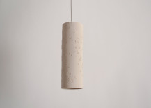 Porcelain seed lamp from Etsy shop lightexture