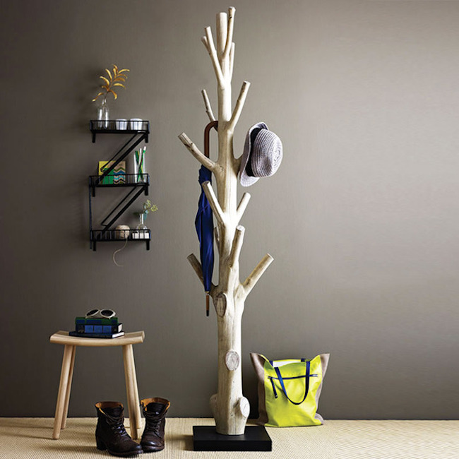 Recycled Mangosteen Coatrack from Dot & Bo