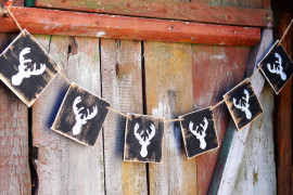 Rustic wood reindeer banner Holiday Banner Ideas to Showcase Your Cheerful Message Holiday Banner Ideas to Showcase Your Cheerful Message Rustic wood reindeer banner