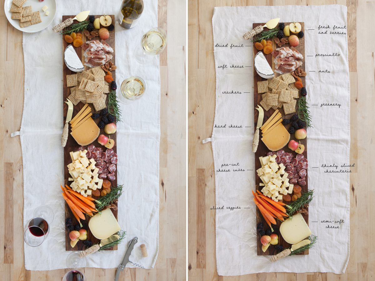Scrumptious cheese plate idea from Oh Happy Day!