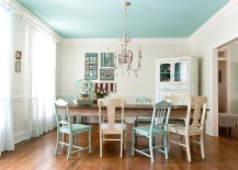 Seaside charm coupled with shabby chic panache