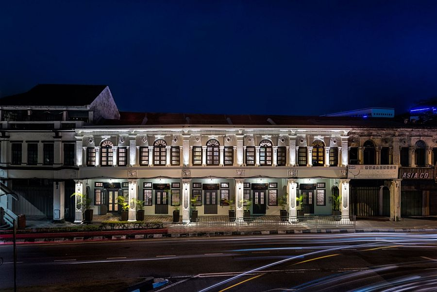 Series of five iconic shophouses turned into amazing Loke Thye Kee Residences