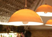 Set of 3 porcelain pendant lights from Etsy shop Flux Surface 217x155 20 Porcelain Pendant Light Treasures