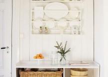 Shabby chic decor for the modern kitchen [Ftom: Jeanette Lunde]
