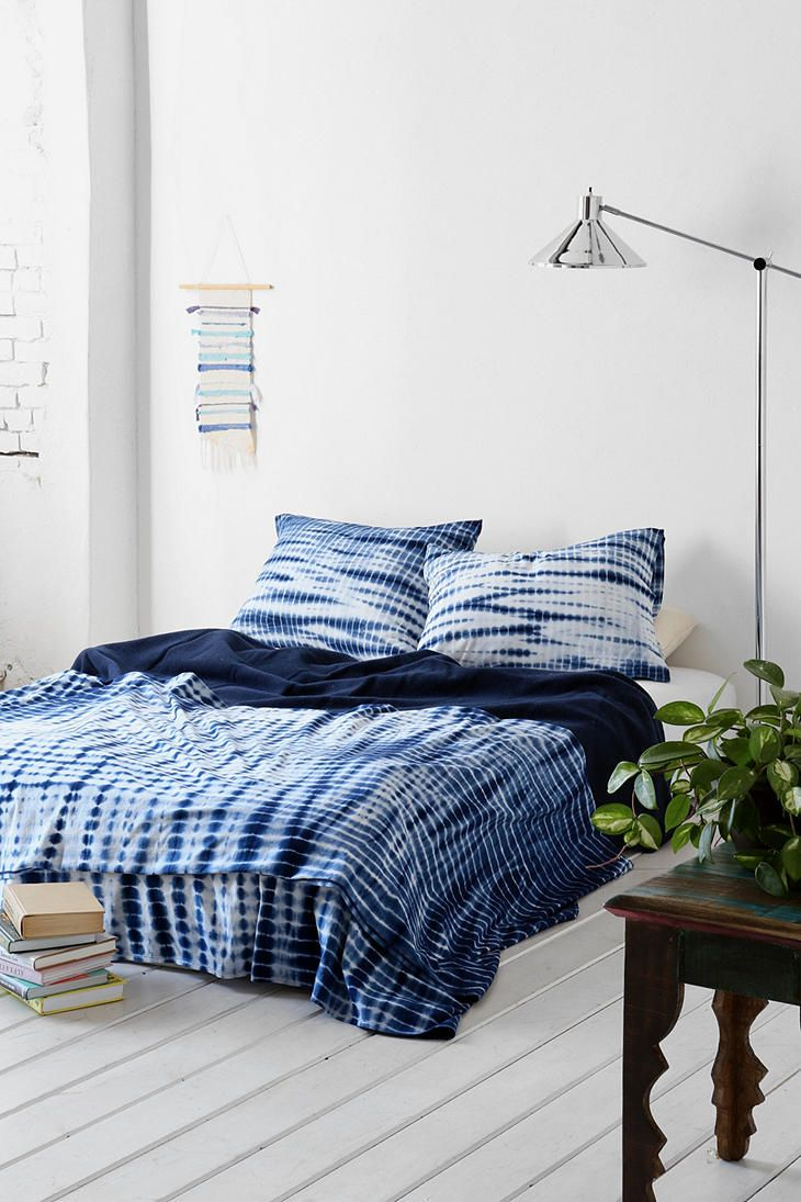 Shibori bedding from Urban Outfitters