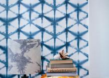 Shibori wallpaper 217x155 17 Beautiful Decorative Uses of Shibori Indigo Patterns