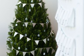 Simple banner to dress up a Christmas tree Holiday Banner Ideas to Showcase Your Cheerful Message Holiday Banner Ideas to Showcase Your Cheerful Message Simple banner to dress up a Christmas tree