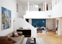 Skylight-brings-ample-natural-light-into-the-lower-level-of-the-lovely-TriBeCa-loft-217x155