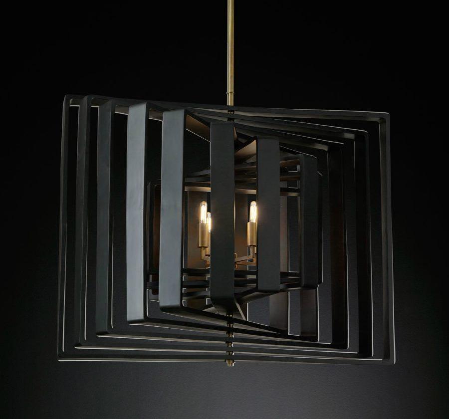 Spiral pendant from RH Modern