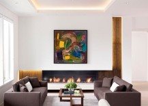 Strategic lighting in a recessed ceiling 217x155 Design Ideas for a Recessed Ceiling