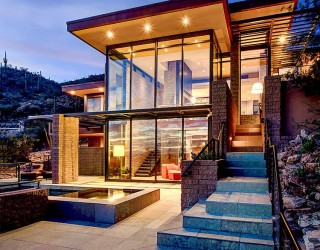 Blending In: Contemporary Mountain Home with Majestic Views