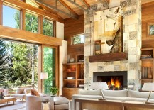 Stunning-art-workk-blends-in-with-the-colors-of-the-fireplace-wall-217x155
