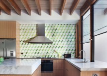 Tiled-backsplash-in-the-kitchen-brings-3D-Pattern-to-the-interior-217x155