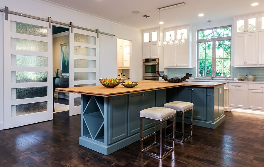 trendy barnstyle doors with frosted glass panels design barbara gilbert interiors