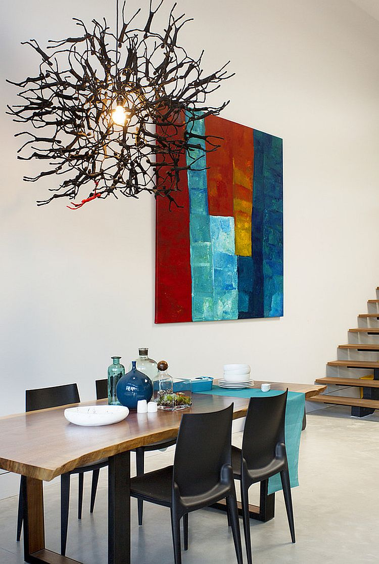 Unique pendant has a chic, abstract vibe [Design: ZeroEnergy Design]