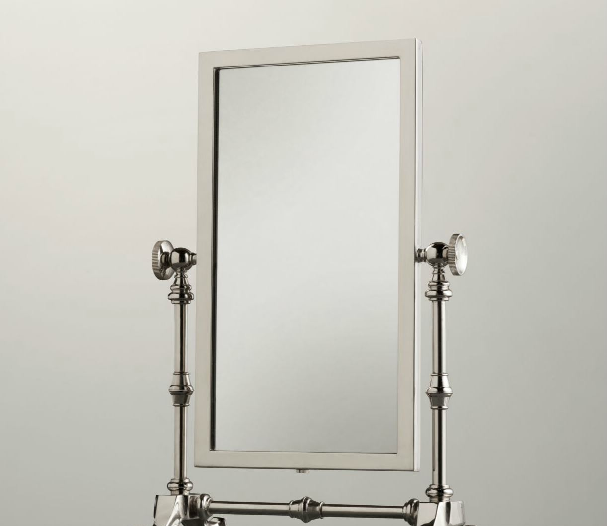 Vintage-style shaving mirror from Restoration Hardware