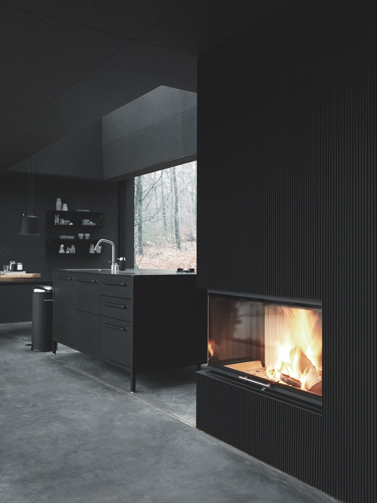 Vipp Shelter Fireplace