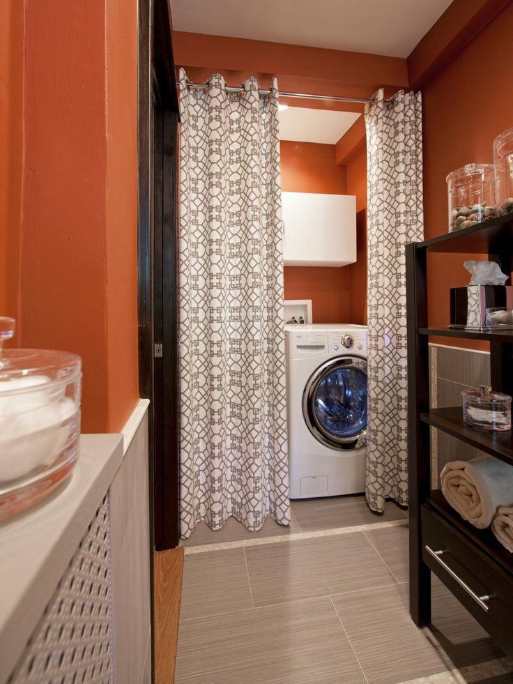 15 laundry spaces that cleverly conceal their unsightly for How to come up with painting ideas