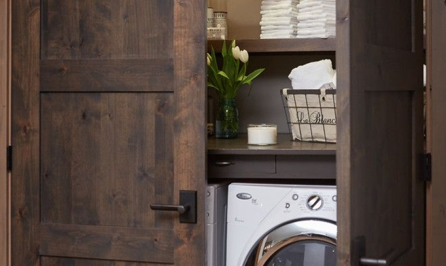 15 Clever Ways To Hide A Washing Machine Dryer In Your Home