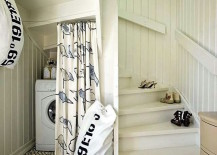 Washer-under-stairs-hidden-by-a-curtain-217x155