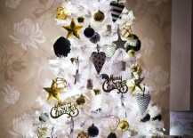White-Christmas-all-lit-up-with-gold-black-and-white-ornaments-217x155
