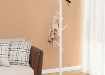 White Creatwo tree floor coat rack from AliExpress 217x155 15 Cool Coat Racks That Really Branch Out