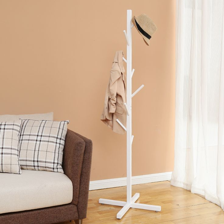 White Creatwo tree floor coat rack from AliExpress