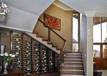 Wine storage turns into an eye-catching display