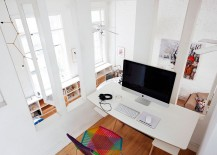 Workspace-on-the-mezznine-level-with-a-view-of-the-lower-dining-space-and-kitchen-217x155