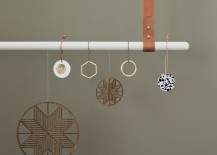 ferm LIVING's geo ornaments in a range of styles