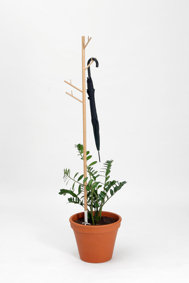 reCOVER coat rack ecosystem from Teracrea