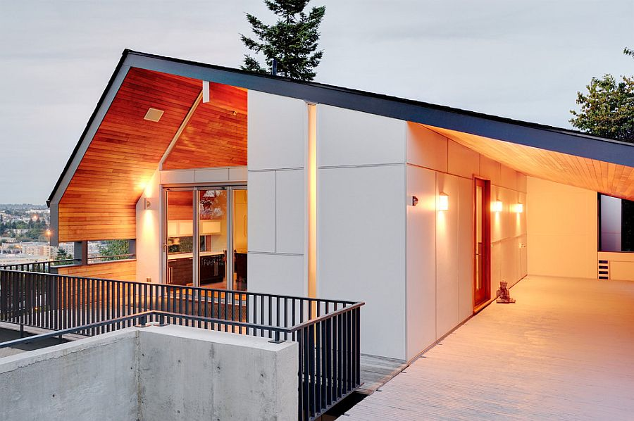 1960s midcentury home in Seattle given a contemporary makeover 1960s Midcentury Home in Seattle Revitalized for a Modern Family