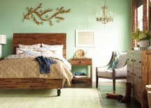 Andover bedroom collection brings together class and coziness