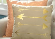Arrow decorative pillows 217x155 15 Striking Ways to Decorate with Arrows
