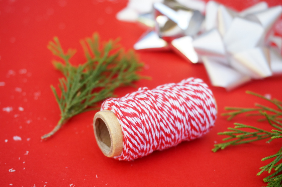 Baker's twine adds the perfect finishing touch