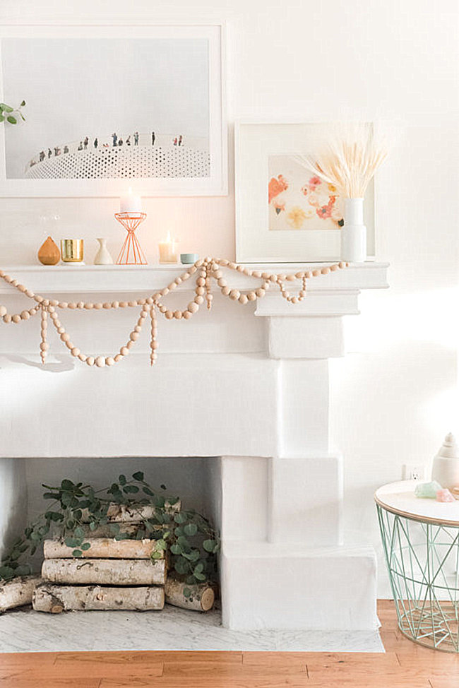 Beaded garland DIY from Design Love Fest
