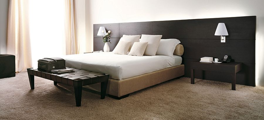 Beautiful Hotel Bed from Porada