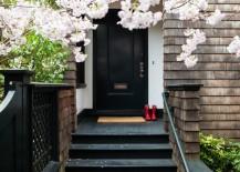 Black-painted-front-door-217x155