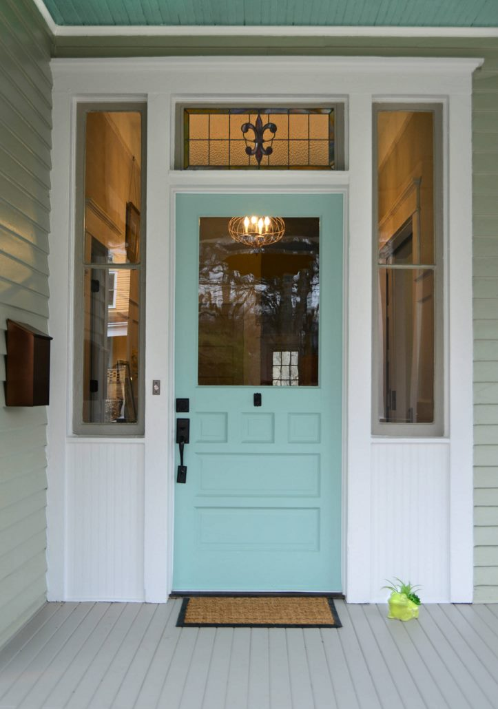 Paint the front door 10 helpful tips for Exterior door paint