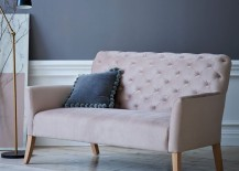 Blush settee from West Elm