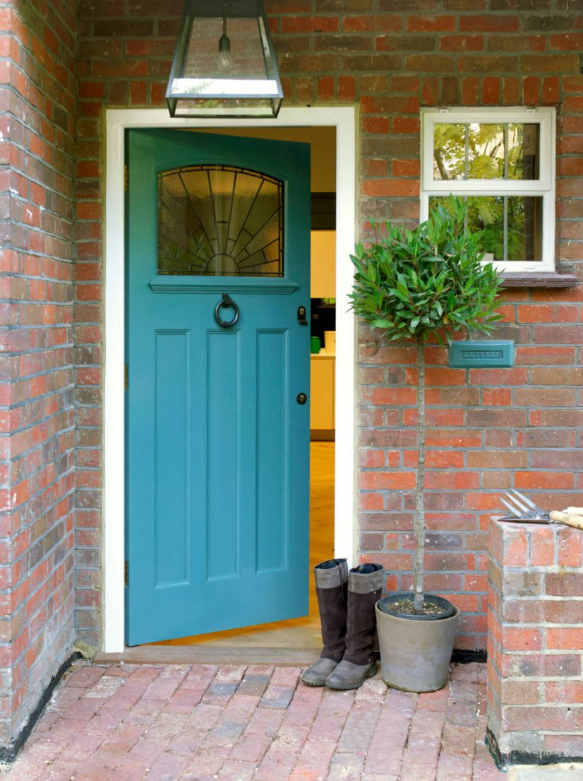 Paint the front door 10 helpful tips for House entrance doors