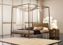 Canopy bed from Nella Vetrina 217x155 High End Beds for a Long Winters Nap
