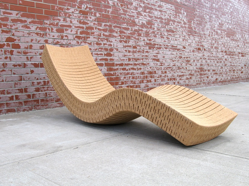 Chaise Longue by designer Daniel Michalik