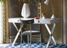 Channing desk adds style and glamour to the home office